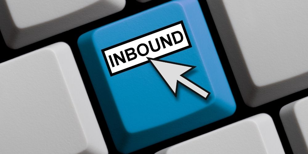 Inbound marketing keyboard