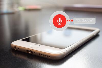 Customers are now more likely to use voice search.