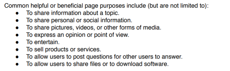 Google's Search Rater Guidelines, Page 9