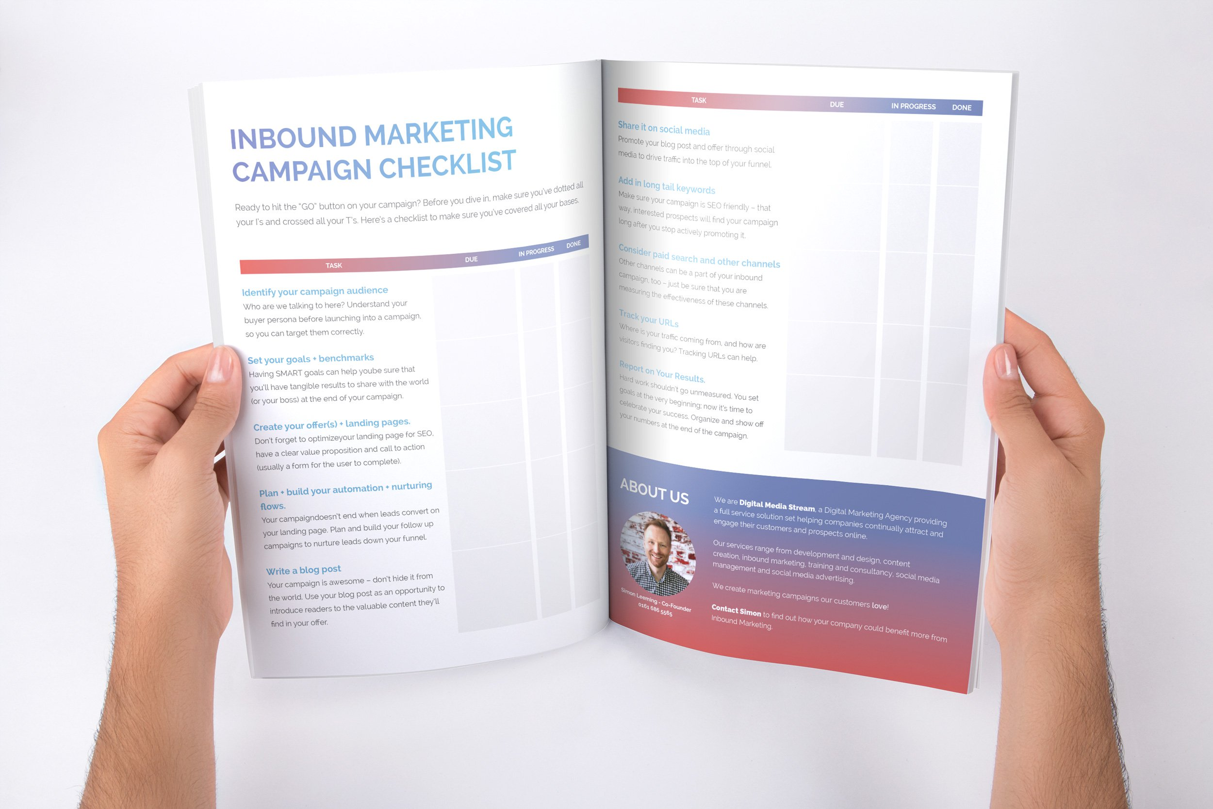 INBOUND MARKETING CHECKLIST - Preview